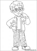 Fireman Sam coloring pages on ColoringBookinfo