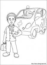 Fireman Sam Coloring Pages To Print - Coloring Home | 220x157