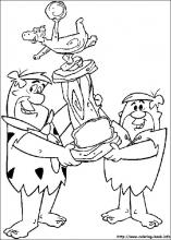 The Flintstones coloring pages on Coloring-Book.info
