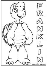 franklin coloring pages on coloring bookinfo