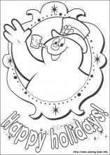 Frosty the snowman coloring pages on Coloring Bookinfo
