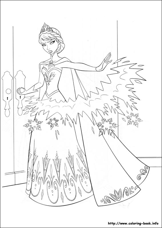 35 Frozen Pictures To Print And Color Last Updated August 17th