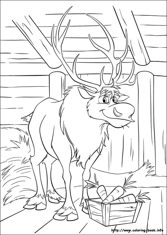 frozen coloring pages on coloringbook, printable coloring
