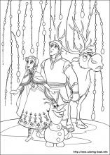 frozen coloring pages on coloring bookinfo - Coloring Pages Coloring Book Info
