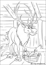 frozen coloring pages on coloring-book.info - Coloring Pages Coloring Book Info