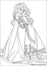 Anna And Elsa Coloring Pages Magnificent Frozen Coloring Pages On Coloringbook Decorating Design