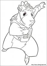 GForce coloring pages on ColoringBookinfo