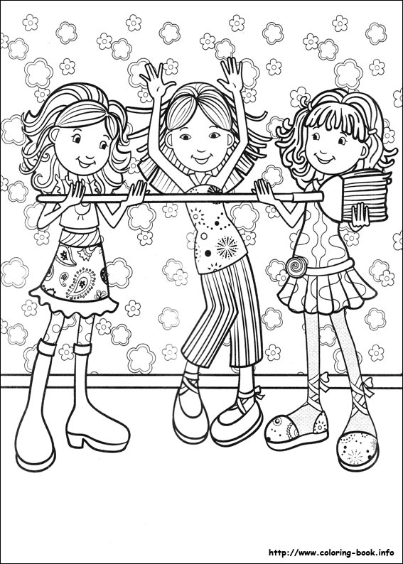index - Girls Coloring Book