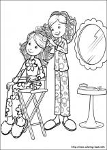 Groovy Girls coloring pages on Coloring-Book.info
