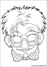 Halloween Masks Coloring Pages On Book