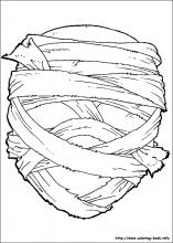 Halloween Masks coloring pages on Coloring Bookinfo