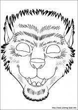 Halloween Masks To Print And ColorMasksPrintable Coloring Pages