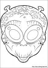 8 Halloween Masks Pictures To Print And Color Last Updated November 19th