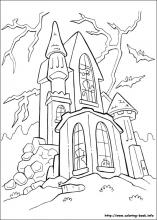 Halloween Coloring Pages On Coloring Book Info