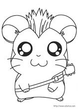 hamtaro coloring pages Hamtaro coloring pages on Coloring Book.info hamtaro coloring pages