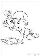 Handy Manny coloring pages on Coloring Bookinfo