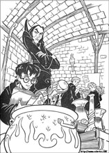 Harry Potter coloring pages on ColoringBookinfo