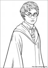 Harry potter pictures to colour