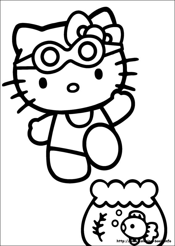 sarah 39 s super colouring pages hello kitty colouring pages