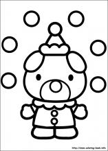 hello kitty coloring pages on coloring bookinfo - Coloring Pages Pictures