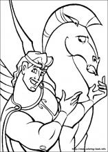 Hercules coloring pages on Coloring-Book.info
