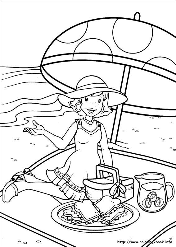Holly Hobbie Coloring Pages On Coloring Book Info