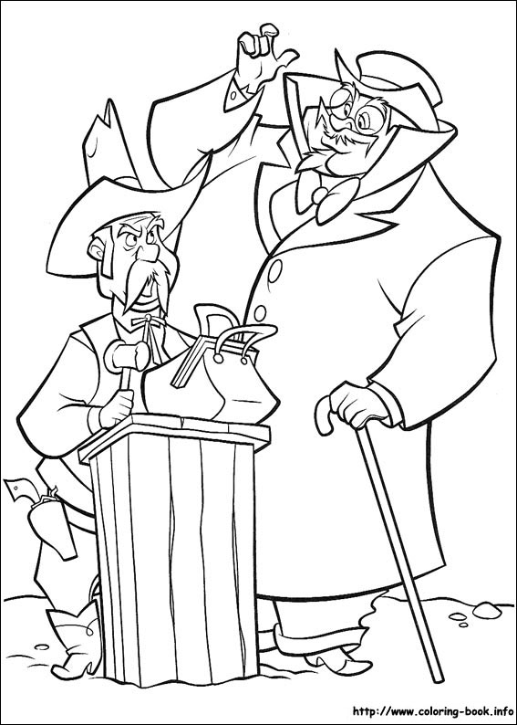 Home on the Range coloring pages for kids