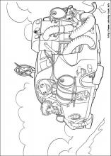 Home Coloring Pages On Book