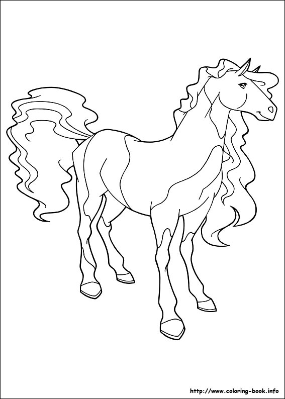 Horseland coloring pages on ColoringBookinfo