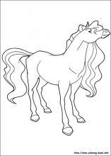 Paard Pepper Kleurplaat Horseland Coloring Pages On Coloring Book Info