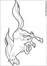 horseland coloring pages on coloring bookinfo - Horseland Coloring Pages Sunburst