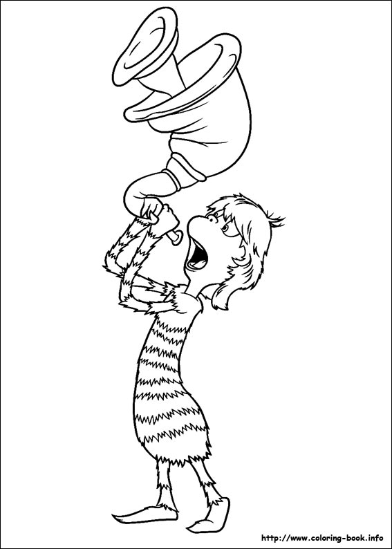 Horton coloring pages on ColoringBookinfo