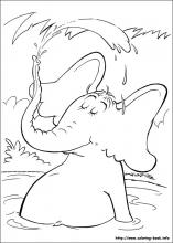 Horton Coloring Pages On Coloring Book Info