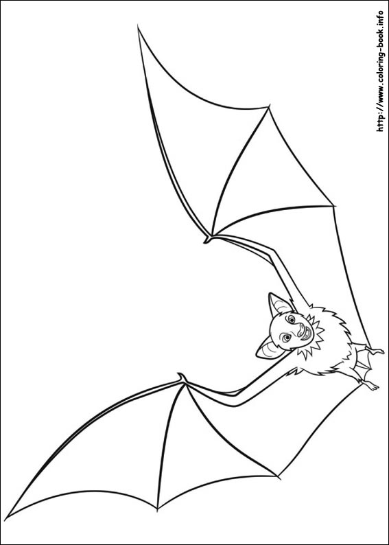 Hotel Transylvania coloring pages on ColoringBookinfo
