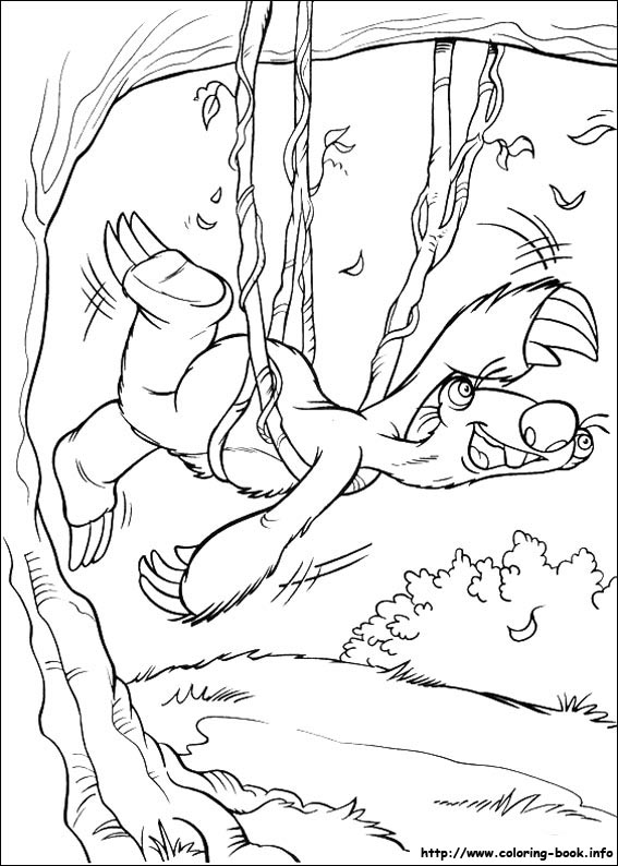 Age coloring picture