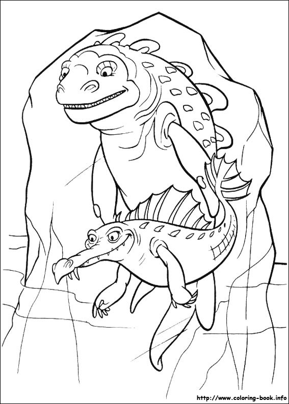 index coloring pages - Ice Age Characters Coloring Pages