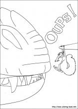 Ice Age coloring pages on Coloring Bookinfo