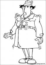 Inspector Gadget coloring pages