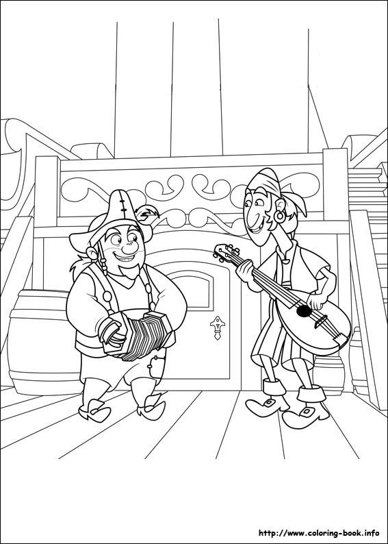 Jake and the Never Land Pirates coloring pages on Coloring-Book.info