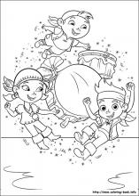 Jake and the Never Land Pirates coloring pages on ColoringBookinfo