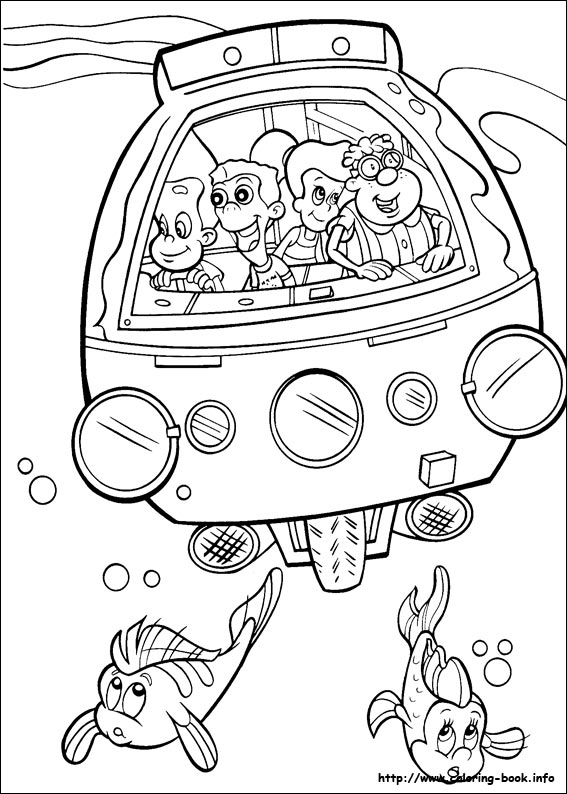 jimmy neutron coloring pages on coloring book info
