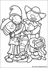 Jojo Circus coloring pages on Coloring-Book.info
