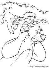 Jungle Book 2 Coloring Pages On