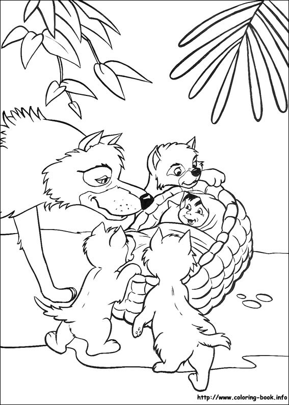 Jungle Book coloriage