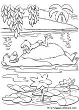Jungle Book coloring pages on Coloring Bookinfo