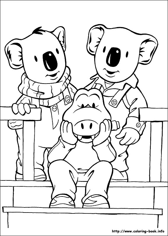 Koala Brothers Coloring Picture