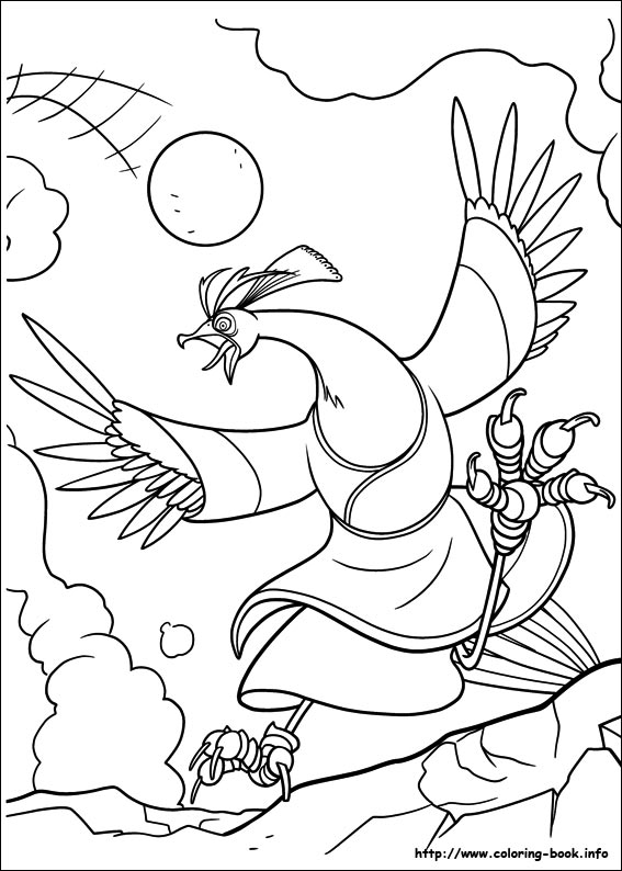 Kung fu panda 2 coloring picture for Kung fu panda 2 coloring pages