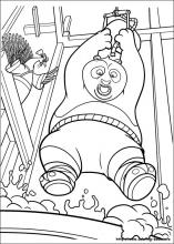 Kung Fu Panda 2 coloring pages on ColoringBookinfo