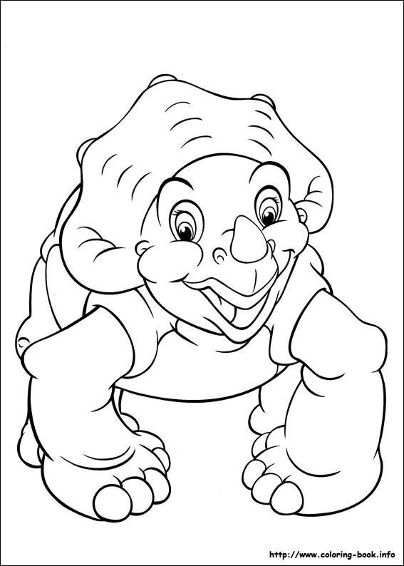 Coloring Book Land | The Land Before Time Coloring Picture