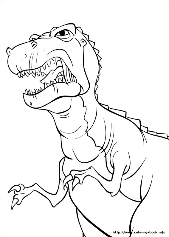 - The Land Before Time Coloring Pages On Coloring-Book.info